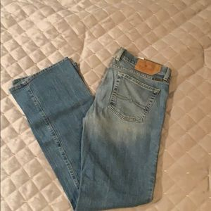Woman's denim washed jeans